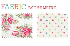 Fabric for doorstops