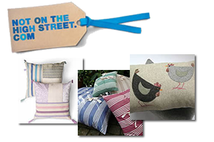 Not on the high street cushions