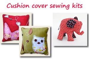 Cushion cover sewing kits