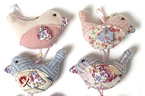 lavender bird bags